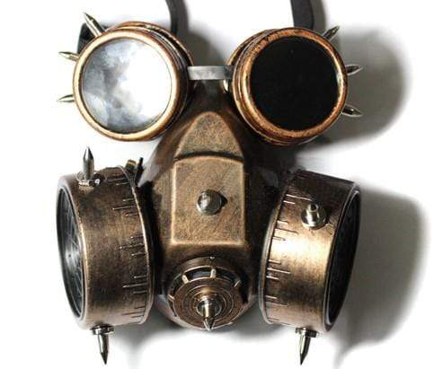 Punk Military Goggles & Gas Mask