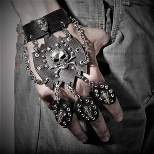 Punk Rock Skeleton Glove