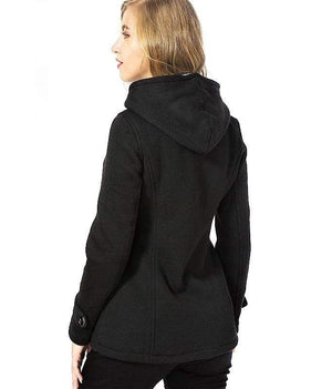 New Gothic Hooded Coat
