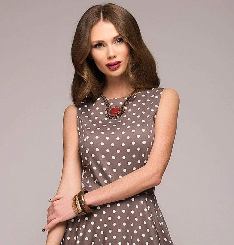 Casual A-line dress