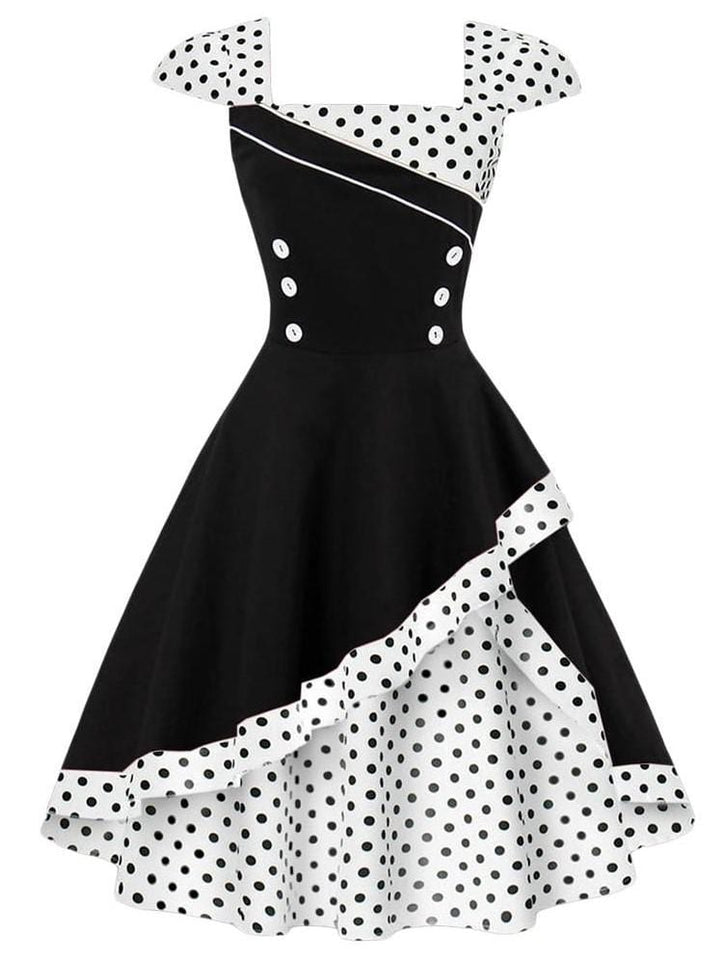 Vintage Rockabilly Feminino Dress