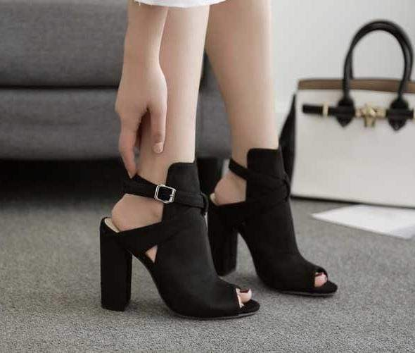 Gladiator High Heel Pumps