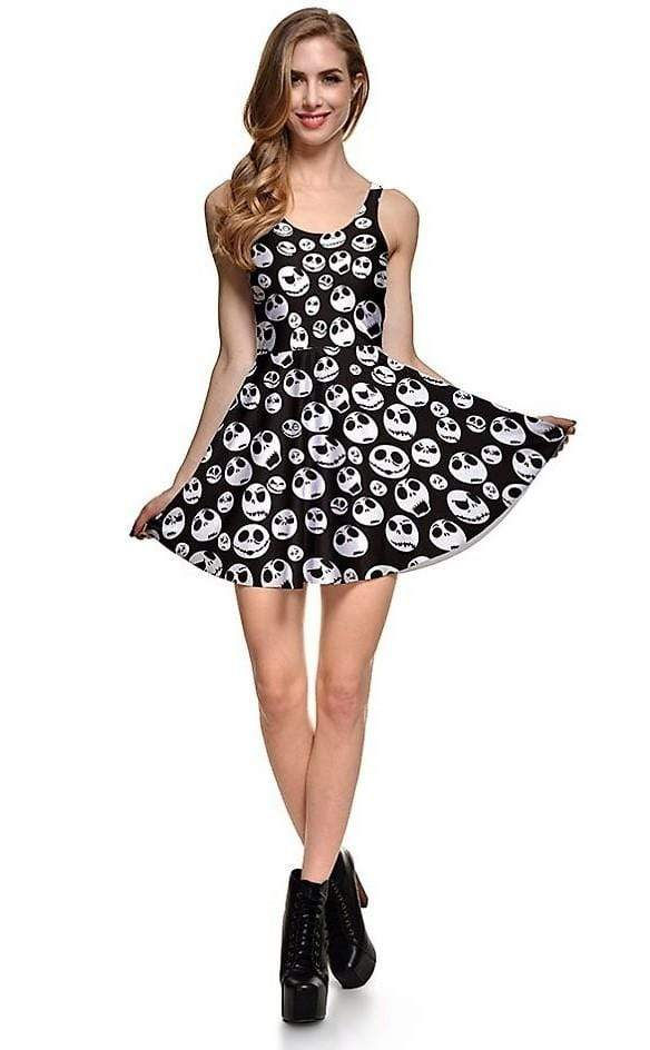 NBC Style Summer Skull Dress