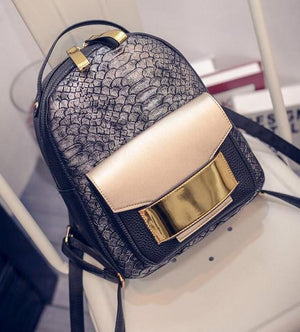 Snake Skin Backpack