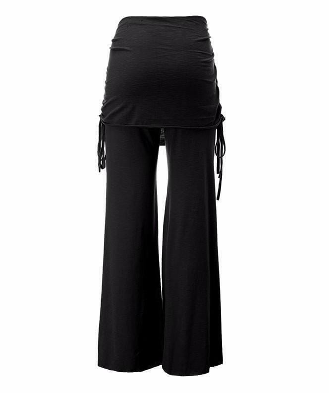 Gothic Flared Wide Leg Pants