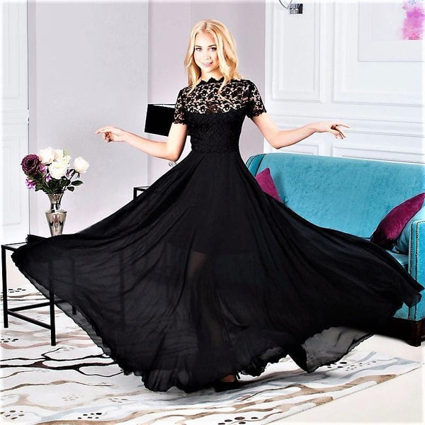 Gothic Evening Gown – Deadly Girl