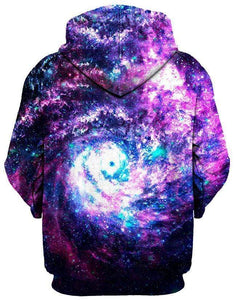 Blackhole Galaxy Unisex Hoodies
