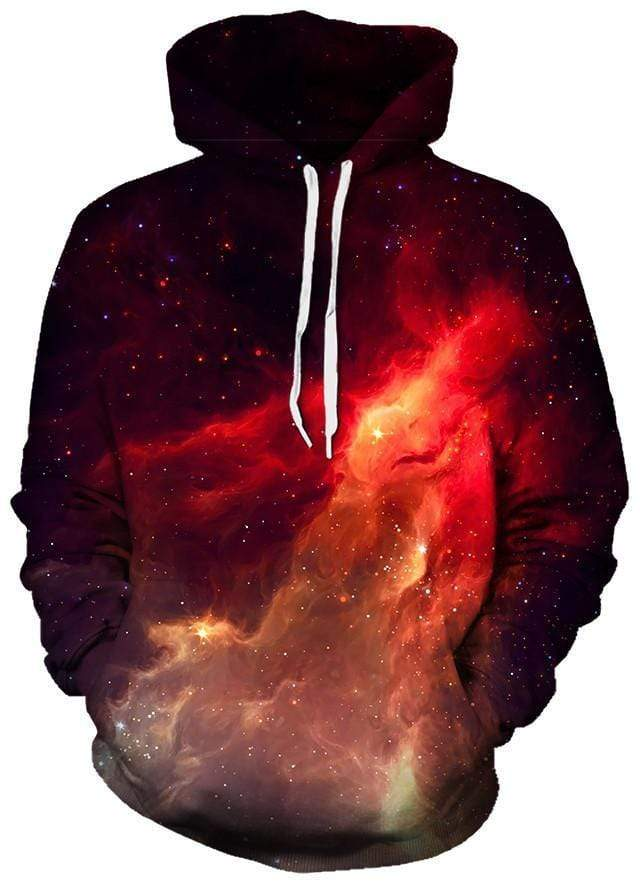 Supernova Galaxy Unisex Hoodies