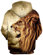 Lion Galaxy Unisex Hoodies