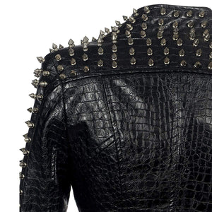 Albertine Studded Leather Jacket