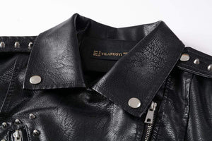 Struggle Faux Soft Leather Jackets