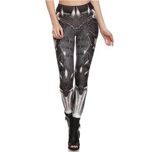 Steampunk Mechanical Gear leggings