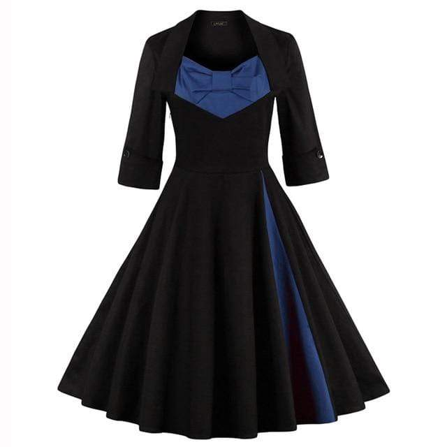 50s Style Gothic Dress
