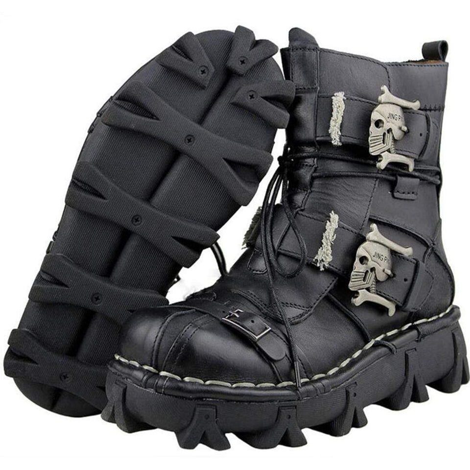 Metal Head Rough Tread Boots