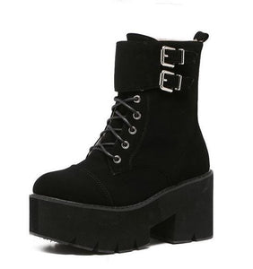Ladys Winter Style Punk Boots