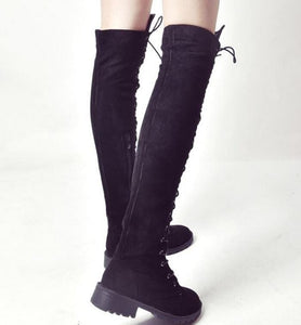 Gladiator Over-Knee Boots