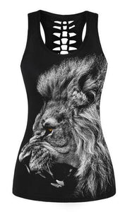 2018 Summer Tank Tops (Lion)