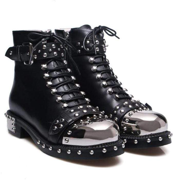 Chunky Army Combat Boots