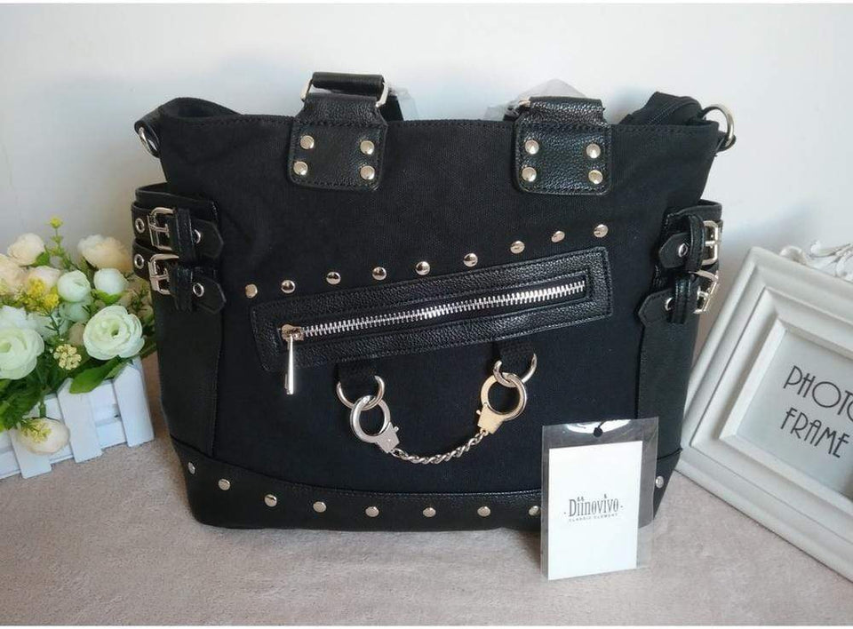 Cuff and Chain Style Handbag