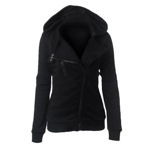 Casual Fall Hooded Jacket