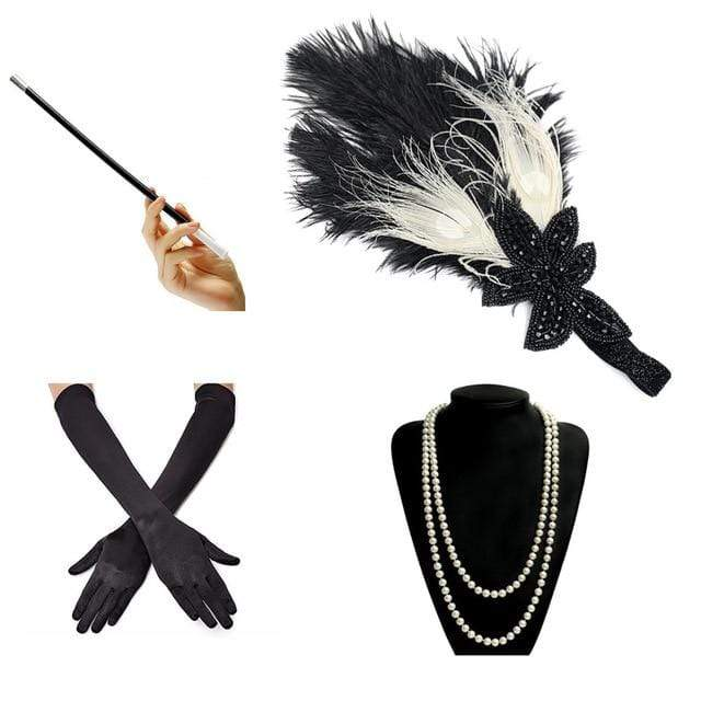 1920s Gatsby Accessories Sets