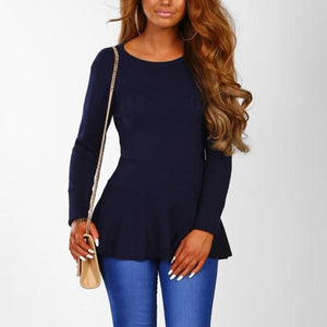 Bow Tie Back Long Sleeves