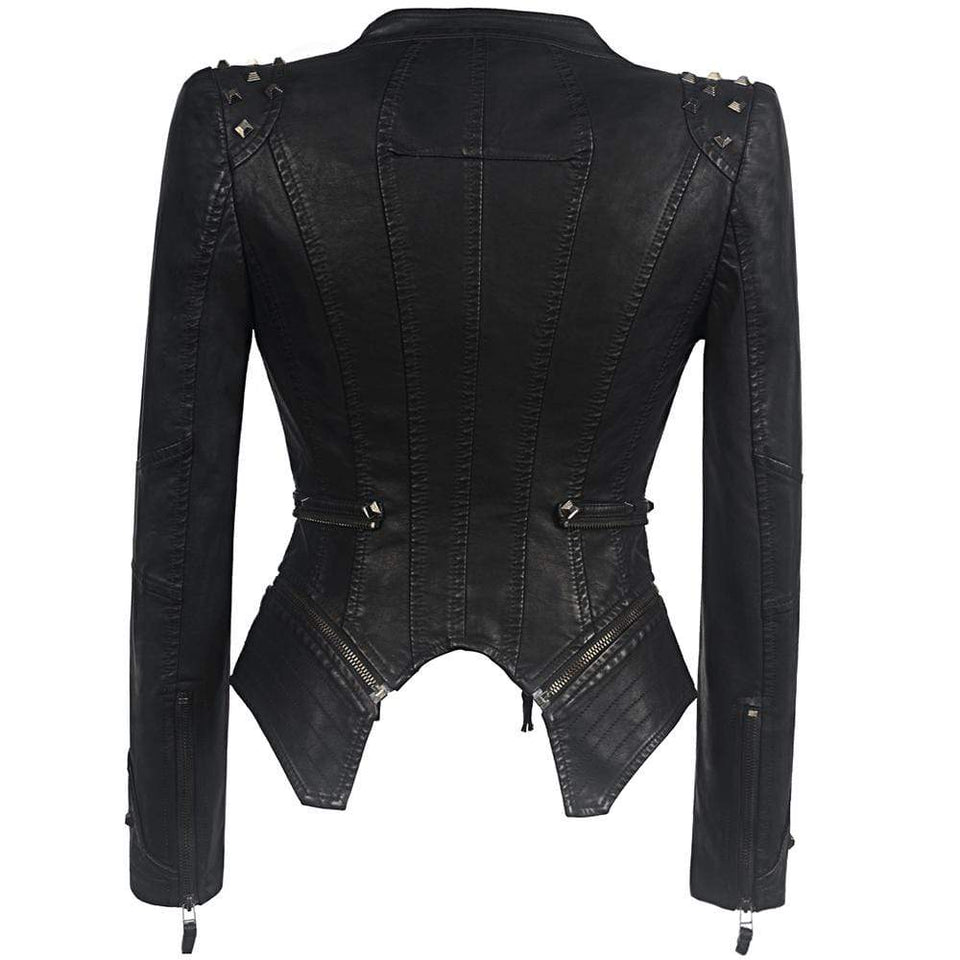 DeadlyGirl's Punk Motorcycle Jacket