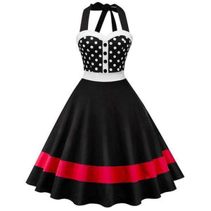 Sleeveless Pin Up Swing Dress