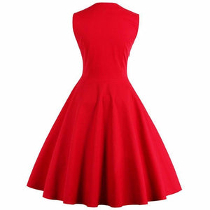 Retro Rockabilly Dress