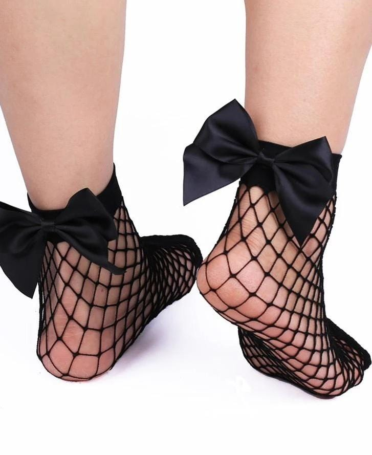 Elegant Fishnet Socks