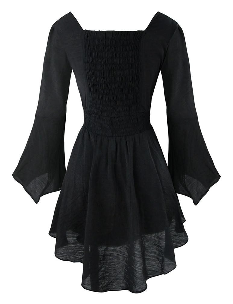 Victorian Gothic Casual Dress Deadly Girl