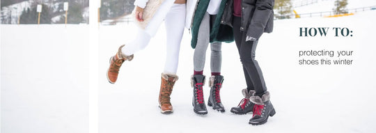 How To: Protecting Your Shoes This Winter