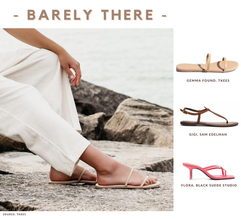 Women's Barely There Sandals