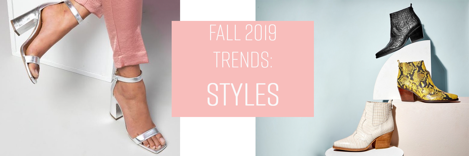 Shoe style trends for fall 2019