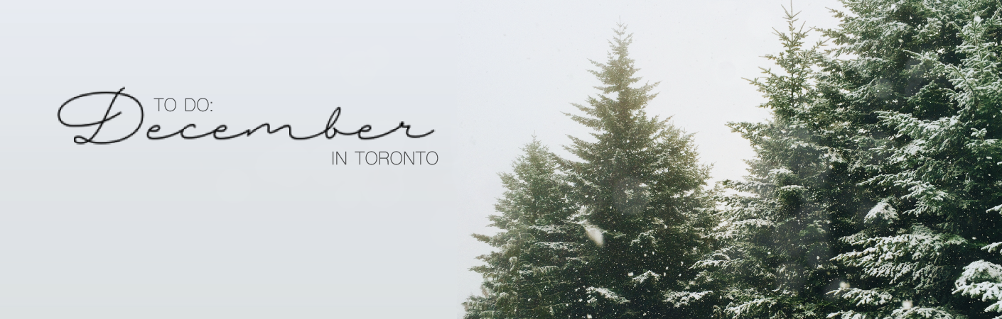 to do: december in toronto