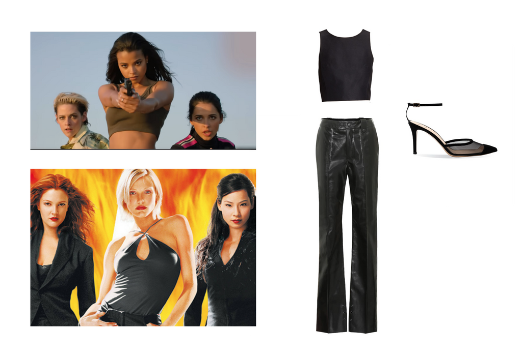 charlies angels costume