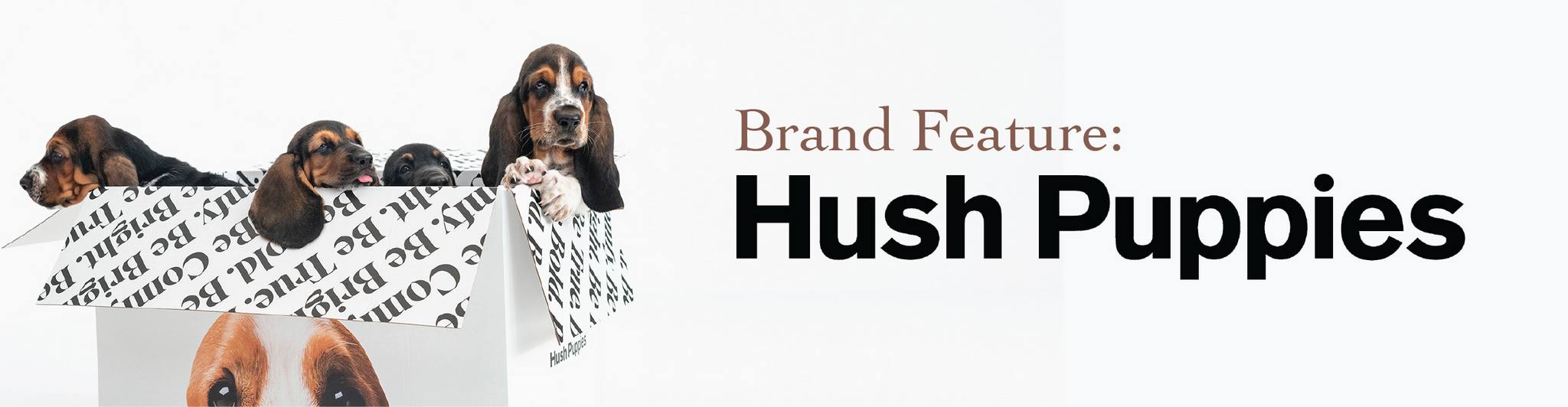brand feature hush puppies