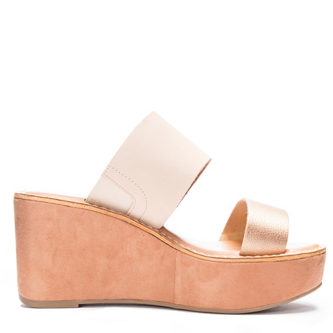 Chinese Laundry - Ollie in Rose Gold and Cream