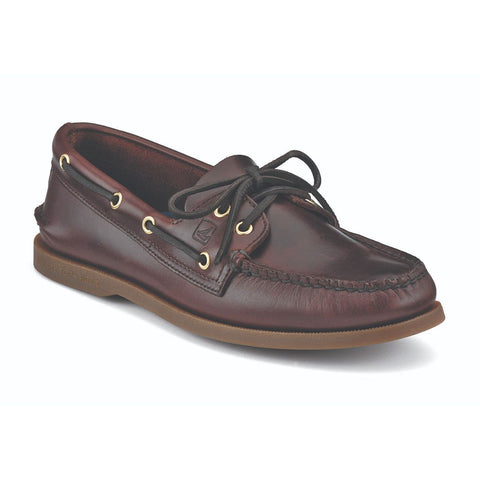 Sperry Men's A/O 2-Eye Boat Shoe in Amaretto