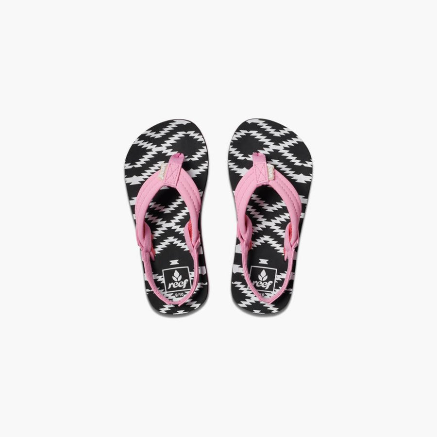 Reef Women's 02199 Little Ahi Pink M Kids Sandals Reef Kids