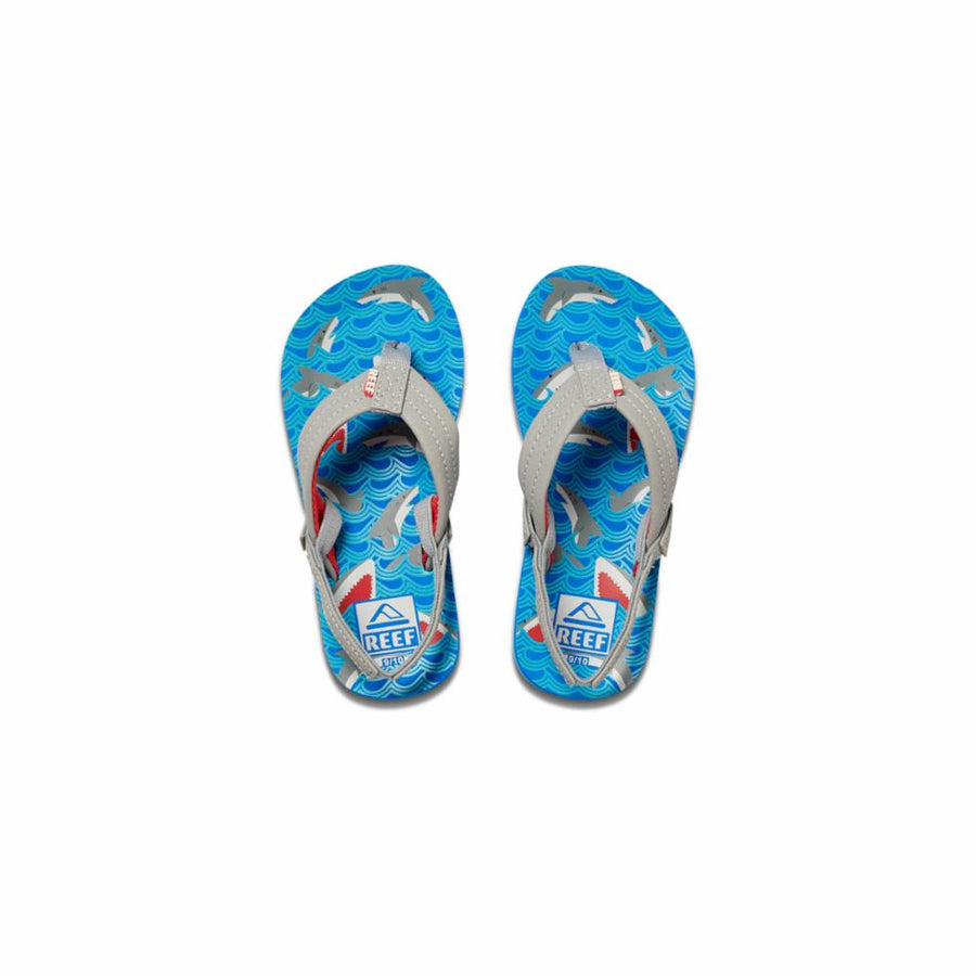 Reef  Women's 02345 Little Ahi Blue M