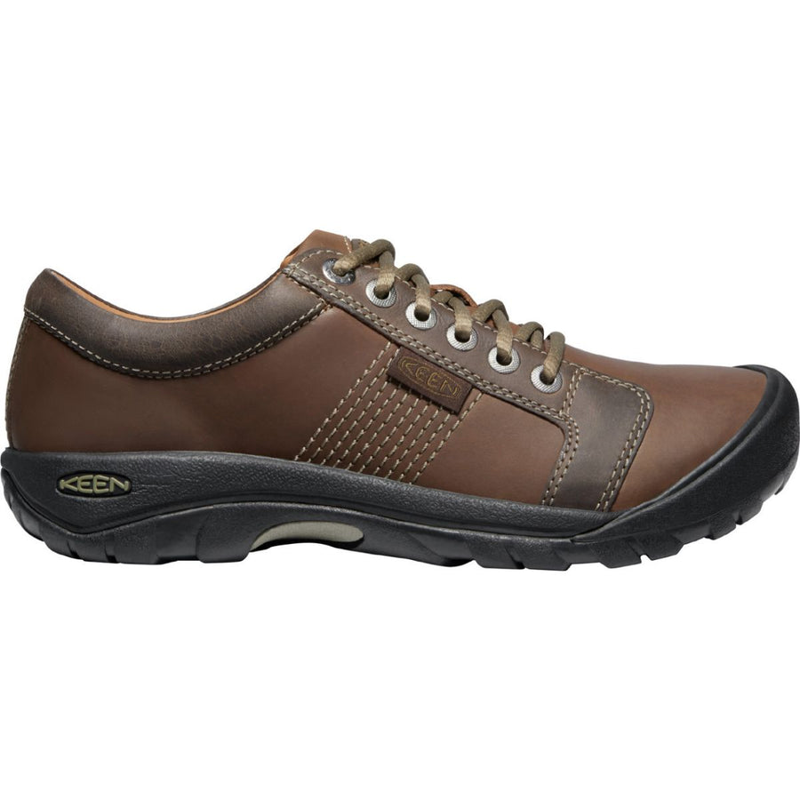 Keen Men's Austin in Chocolate Brown Casual Shoes KEEN 9