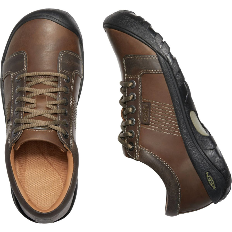 Keen Men's Austin in Chocolate Brown Casual Shoes KEEN
