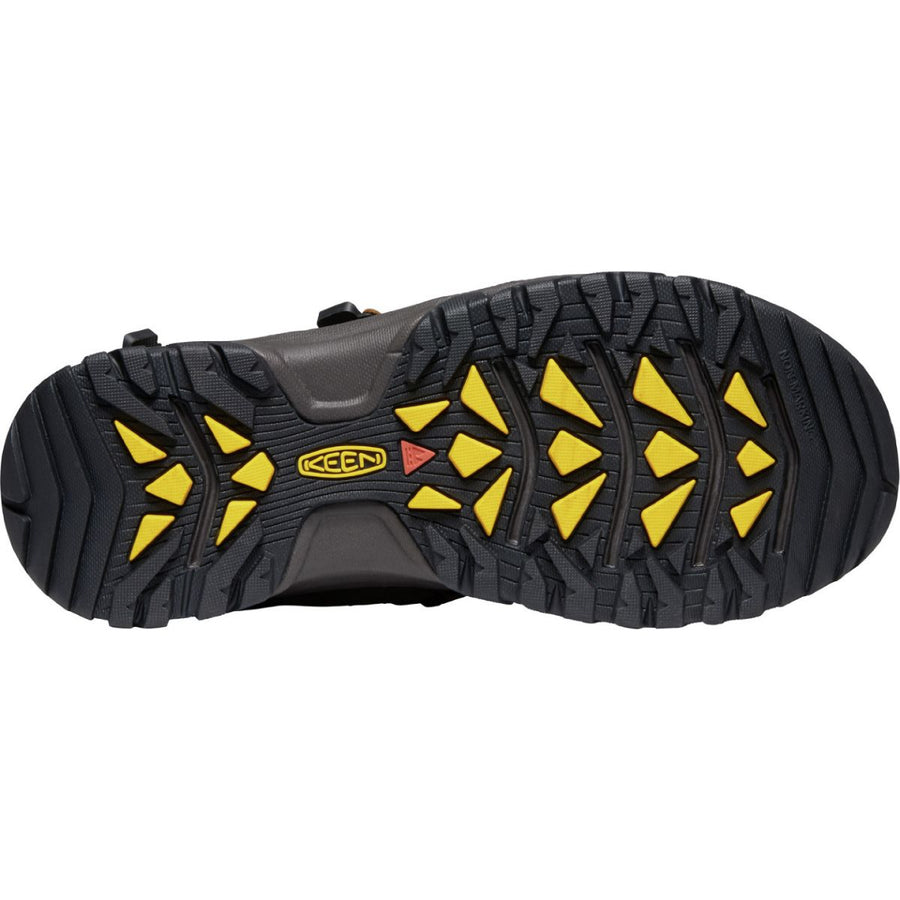 Keen Men's Targhee III Open Toe Sandal in Bison/Mulch Men's Sandals KEEN