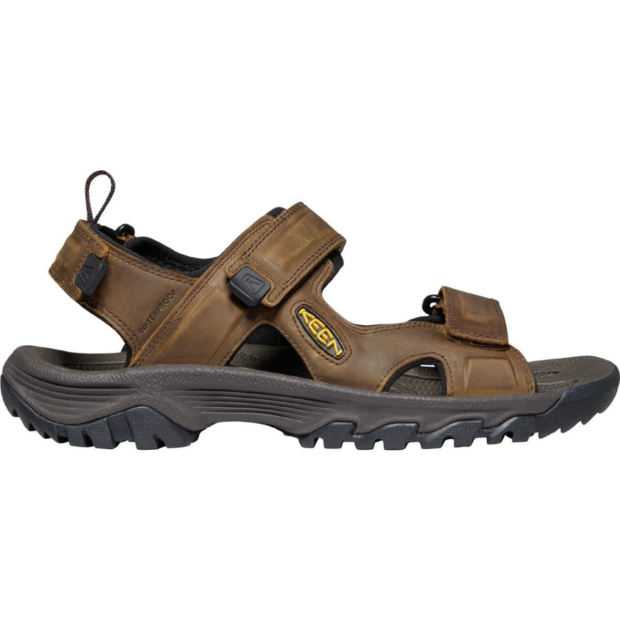 Keen Men's Targhee III Open Toe Sandal in Bison/Mulch Men's Sandals KEEN 7