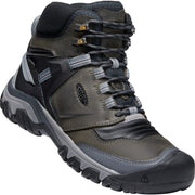 Keen Men's Ridge Flex Mid WP in Magnet/Black Men's Boots KEEN 15