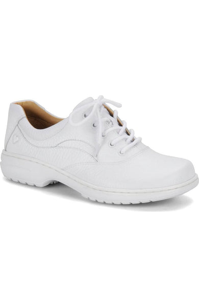 Nurse Mates Women's Macie Shoe in White Flats Nursemates 5