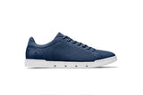 Swims Men's Breeze Tennis Knit in Navy/White Men's Waterproof Shoes SWIMS 7