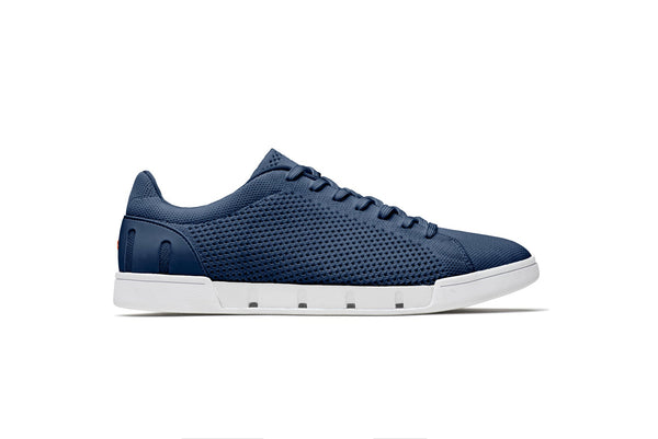 Swims Men's Breeze Tennis Knit in Navy/White