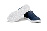 Swims Men's Breeze Tennis Knit in Navy/White Men's Waterproof Shoes SWIMS
